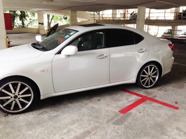 Lexus IS 250 MR Luxury VIP Car