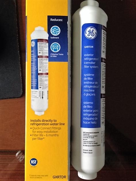 Refrigerator Water Filters GE Type GXRTDR